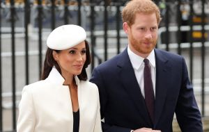As well as Prime Minister Theresa May and senior members of the Royal Family, Meghan Markle will also attended the service, her first official event with the Queen