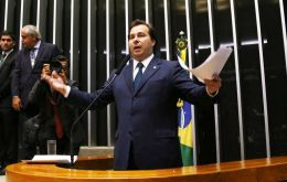 "Maia said he would eschew ""irresponsible populism"" – an indication he would continue Temer's reform efforts to rein in a bulging budget deficit."