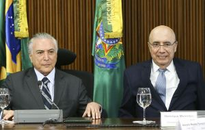 Both Temer and Meirelles received about 1% of voter intentions in a recent Datafolha poll.
