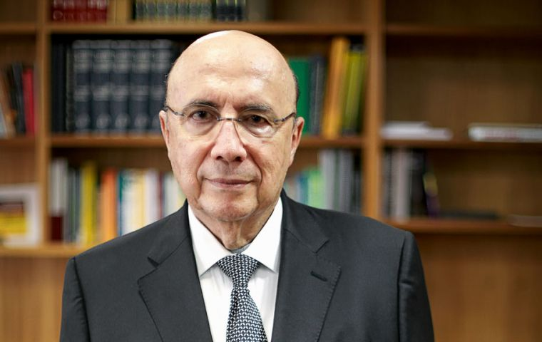 Meirelles has until April 7 to decide whether to join Temer's Brazilian Democratic Movement (MDB) party and resign as minister to run for president
