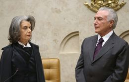 The visit took place five days after Supreme Tribunal Justice Luís Roberto Barroso allowed police to investigate Temer's financial records