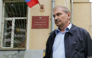 Glushkov, 69, is the former deputy director of Russian state airline Aeroflot. He was jailed in 1999 for five years after being charged with money laundering