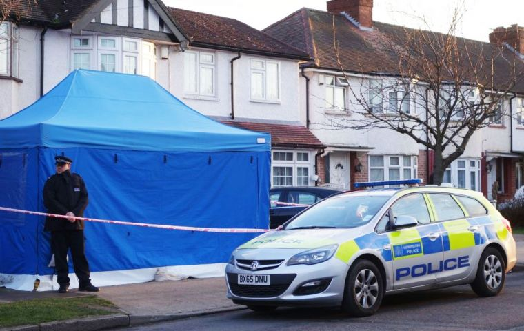 The Metropolitan Police said in a statement that the man in his 60s had been found at a residential address in New Malden on Monday night.