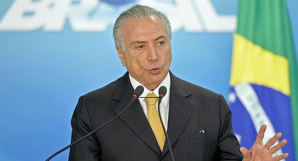 Brazil President Michel Temer to call Trump over steel tariffs