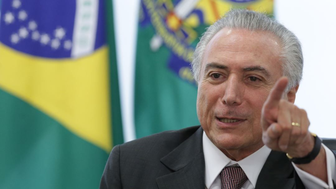 In February Temer decided the federal intervention of Rio de Janeiro state giving the army control over police fire departments and the prison system in the region