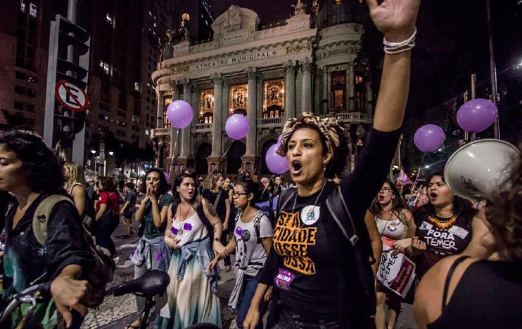 Marielle Franco was slain on Wednesday night while returning from an event focused on empowering young black women.
