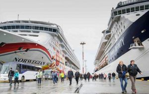 """We must be aware that cruise vessels are larger and larger and we need more docking capacity in our piers to address the increase in the number of visitors"""