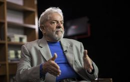 "Lula's book, ""Truth Will Triumph: The People Know Why I am Being Condemned,"" was introduced in Sao Paulo at the Chemical Workers Union"