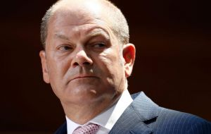 Olaf Scholz warned that protectionism could harm future economic prospects and said Germany would continue talks to dissuade US from imposing punitive tariffs