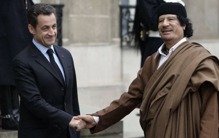 According to the investigation, Gadhafi's regime would secretly gave Sarkozy 50 million euros overall for the 2007 campaign