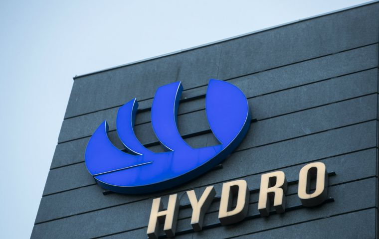 """We have discharged untreated rain and surface water into the Para River,"" Norsk Hydro CEO Svein Richard Brandtzæg said in a statement."