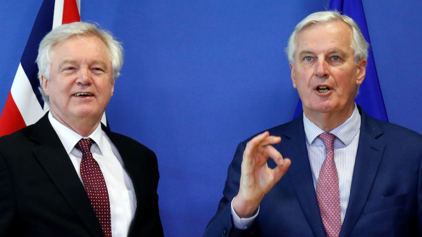 Barnier Hails 'Large Part of Brexit Work COMPLETE' as Transition Limited
