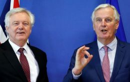 "Negotiators Michel Barnier and David Davis said the deal on what the UK calls the implementation period was a ""decisive step"" in the Brexit process"