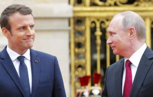"In his phone call, the French leader asked for the Russian authorities to ""shed all possible light on who was responsible in relation to the Salisbury attacks""."