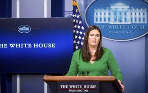 White House Press Secretary Sarah Sanders said there are currently no specific details regarding the time and location of the bilateral meeting.