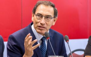 If congress accepts the resignation, power would transfer to Vice President Martin Vizcarra, who is serving as Peru's ambassador to Canada.