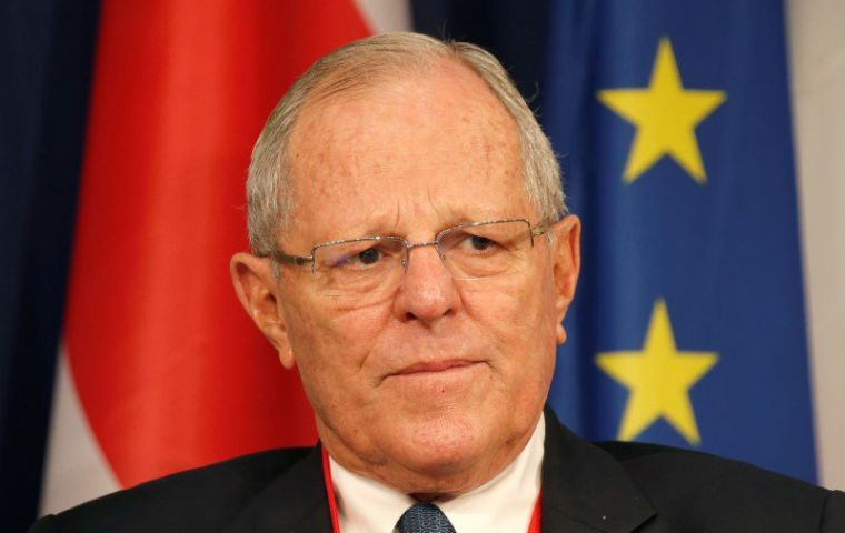 Kuczynski's resignation follows the shock revelation of several of the president's allies caught allegedly trying to buy a lawmaker to block the impeachment.