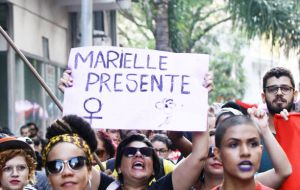 The deaths of Marielle Franco and her chauffer Gomes have prompted a series of protests throughout Brazil and in other countries