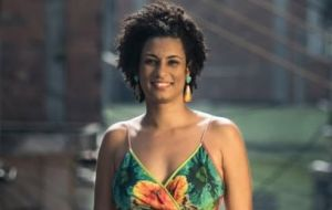 Marielle Franco was murdered March 14 and quickly hailed as an inspiring example of a black woman who had broken barriers by getting elected to Rio's white-dominated city council.