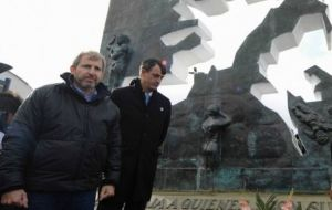 In Ushuaia, minister Frigerio will lead the main commemoration of the 36th anniversary of the beginning of the 1982 conflict