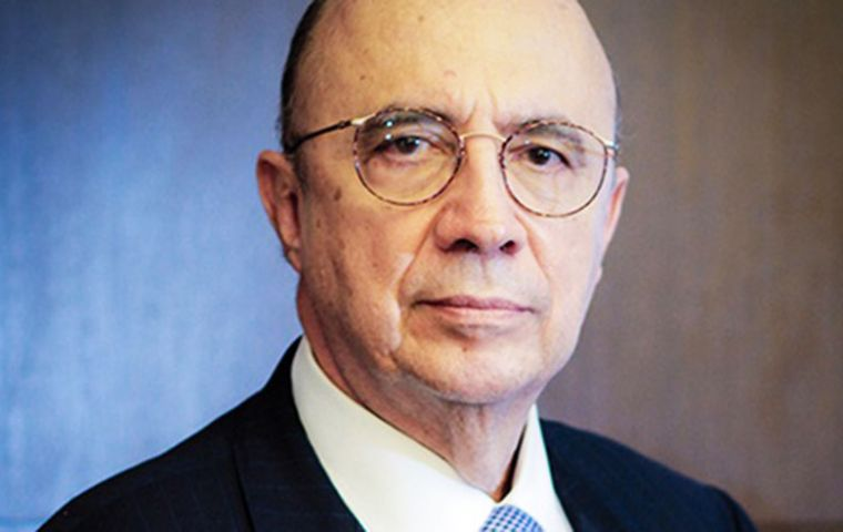 Under Brazil's electoral laws, if Meirelles plans to be a presidential candidate, he has to resign from the government post by April 7.