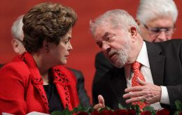 Rousseff assailed the series as a travesty of history aimed at her Workers' Party and its founder Lula, who has been convicted of corruption