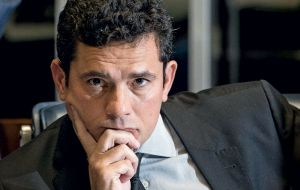 The conviction was handed down by Judge Sergio Moro, who is presiding over cases involving the largest corruption scandal in Brazil's history
