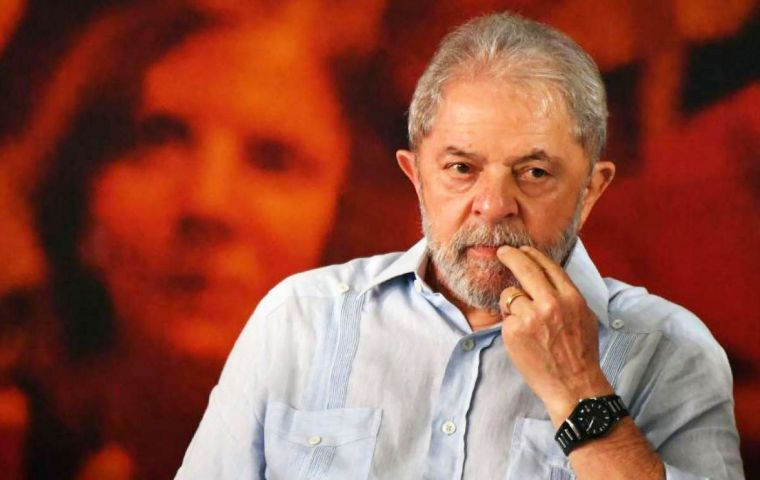 Lula da Silva, who was once wildly popular after his two terms as president, was convicted last year of helping a construction company get sweetheart contracts