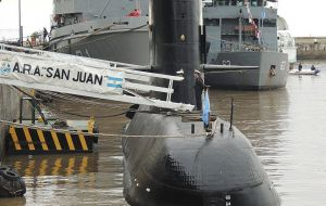 Argentina has given up hope of finding survivors, but the Navy has continued searching for the vessel.
