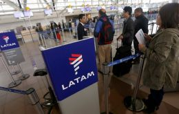 LATAM said it was notifying travel agencies and passengers on flights in order to minimize any impacts on their travel plans.