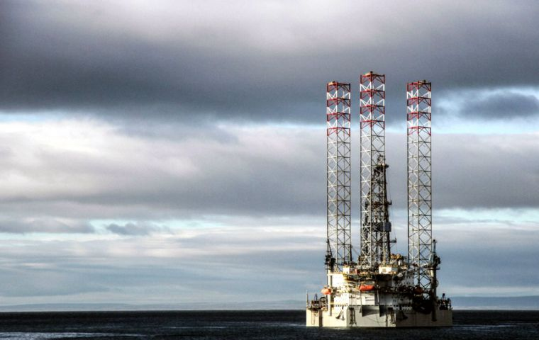 Chile and Argentina open offshore project, east of Magellan
