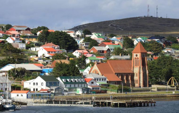 "The Plan makes a specific reference to promoting the Falklands as the natural ""gateway to Antarctica"","