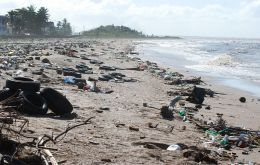 Some 38 out of 50 of the world's largest uncontrolled dump sites are in coastal areas and many of them spill waste directly into the sea.