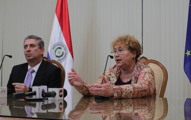 Weber met on Monday with the head of the Superior Electoral Court of Justice (TSJE), Jaime Bestard, to discuss grass root electoral issues
