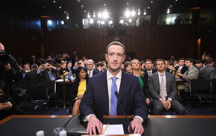 """We believe that we're going to be investigating many apps - tens of thousands of apps,"" Zuckerberg said without citing specific examples."