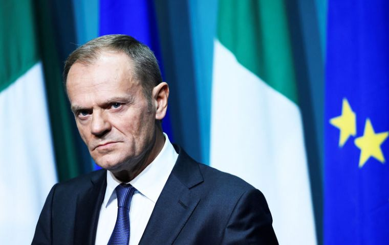 """I don't like Brexit"", said Donald Tusk, ""actually, I believe Brexit is one of the saddest moments in twenty first-century European history."""