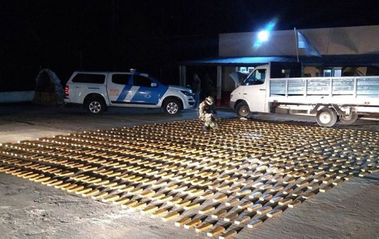 Media reported that police in Pilar, impounded 6,000 kilograms of marijuana. But when police inspected the evidence warehouse later, 540 kilograms were missing.