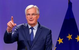 Barnier  gave Theresa May until December 31 2020 to change her mind on Britain exiting as it withdraws from the EU