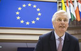Barnier said he was confident that an agreement would be reached to avoid a face-off over Gibraltar's inclusion in the transition agreement