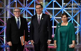 """We should build a continent where citizens are first,"" Peruvian president Vizcarra said. ""We owe it to them. We owe it to their dreams."""