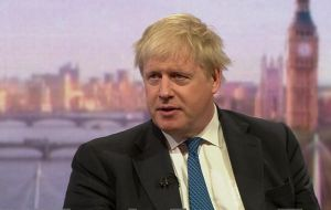 "Foreign Secretary Boris Johnson promised MPs would have ""abundant time"" to have their say."