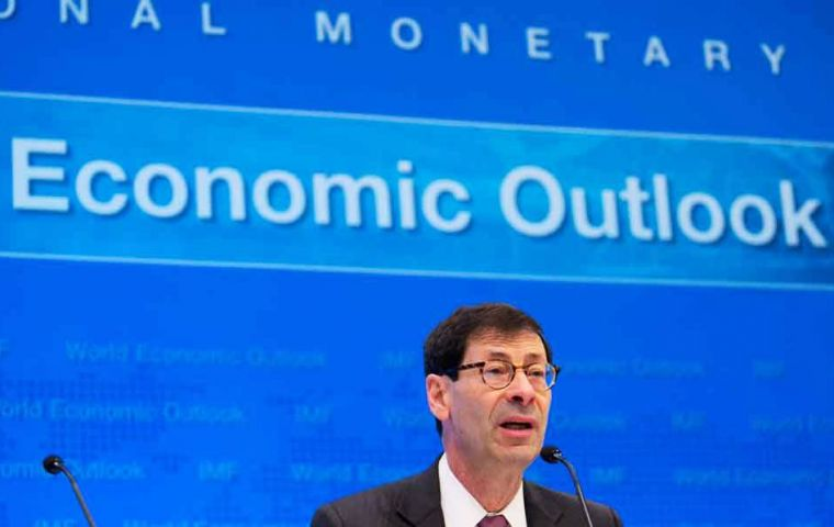 """Despite the good near-term news, longer-term prospects are more sobering,"" said Maurice Obstfeld, Economic Counselor and Director of Research at the IMF."