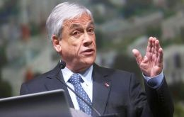 Piñera announcement comes four days before university students have promised to take to Santiago's streets to protest a recent decision by the constitutional court