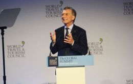 Macri's clear message of Argentina being 'open for business' has benefited tourism enormously, underlined Gloria Guevara Manzo, WTTC president and CEO