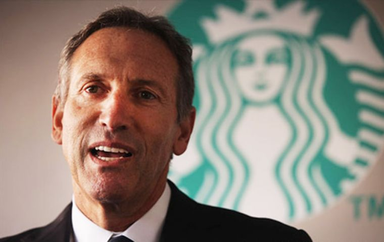 "Howard Schultz's comments came after Starbucks announced it will close US stores on 29 May for company-wide ""racial bias training""."