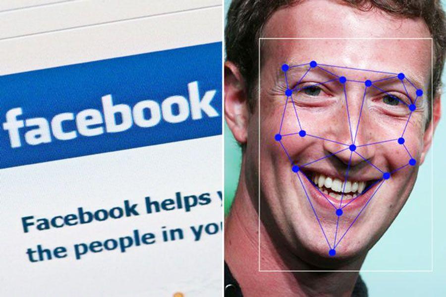 Resultado de imagen para facebook facial recognition