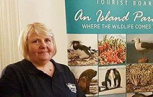 FITB Executive Director Steph Middleton explained that Jenny's involvement in hospitality and tourism in the Falklands had covered several decades