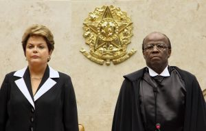 The first and only black member of the high court, Barbosa became a household name in Brazil for his handling of a major political corruption trial in 2012