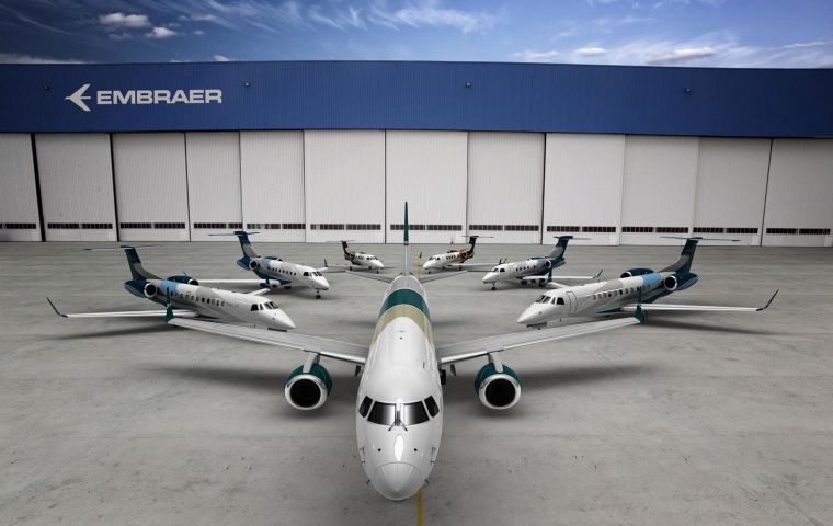 The case plays into a decades-long dispute between Bombardier and its main rival, Brazil's Embraer SA