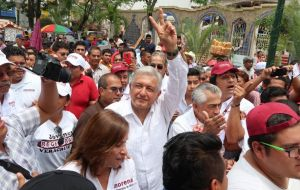 Lopez Obrador has pledged to freeze gasoline and other energy prices for three years and to hold a public consultation on energy reform and private drilling.